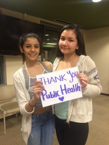 Teen Network Board thanks Public Health