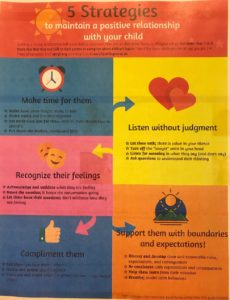 5 ways to have a positive relationship with your child