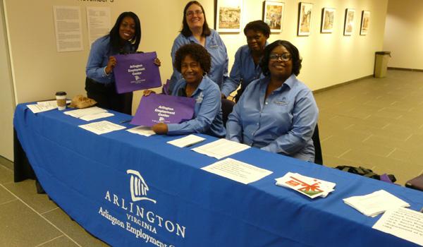 picture of Employment Center job fair