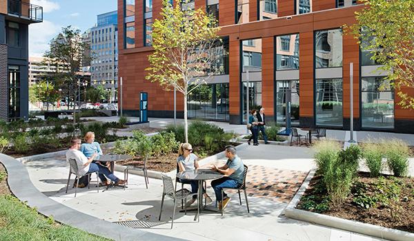 outdoor activities space at marymount university development