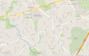 Columbia Pike map