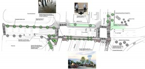 Rendering of the Lynn Street Esplanade.