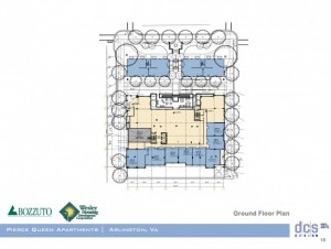 Pierce Queen ground floor plan