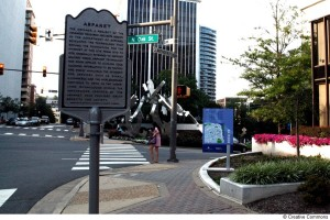 Rosslyn Arpanet sign