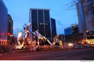 Rosslyn sculpture