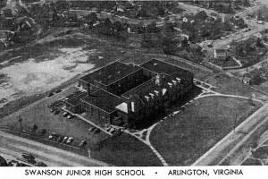 Aerial of Swanson Junior High