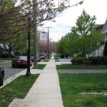 Sidewalks added to North Hudson Street
