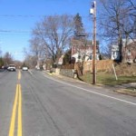 North Ohio Street before street safety enhancements