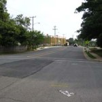 Westover Intersection before safety improvements