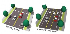 Proposed Wilson Boulevard Improvements diagram.