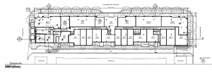 672 Flats Ground Floor Plan - A100