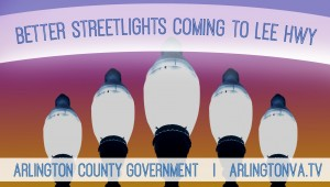 Lee Highway street lights project