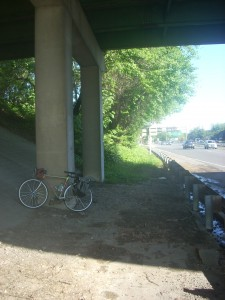 The trail will pass under the Second Street S. overpass