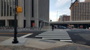 Crosswalk on South Bell Street