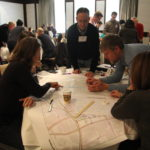 Photo of Participants at the March 2017 Rosslyn Transportation Study workshop
