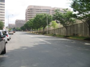 Route 233 off-ramp to Crystal Drive