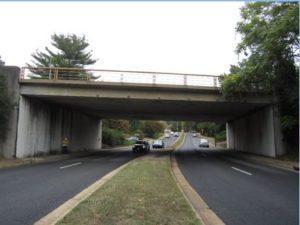 Photo of original bridge