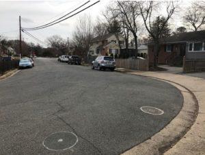 6th Street N. and Emerson Street N. - Before improvements