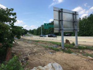 Construction progress - July 2018