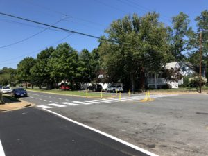 Intersection improvements at 6th Street South and South Adams Street