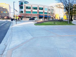 Clarendon Boulevard at 15th Street completed construction