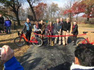 Washington Boulevard Trail ribbon cutting - Nov. 30, 2018
