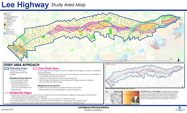 lee highway proposed study area