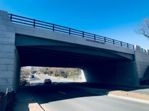 New Carlin Springs Road Bridge