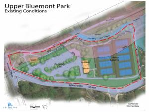 upper bluemont site map