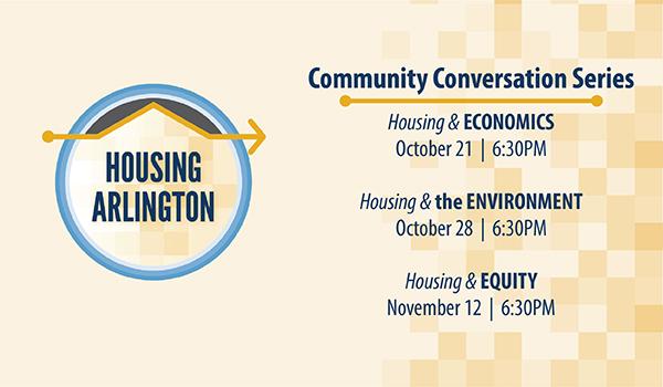 housing arlington community conversation series
