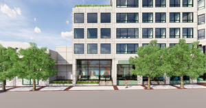 exterior rendering of WETA 3939 campbell ave site plan project