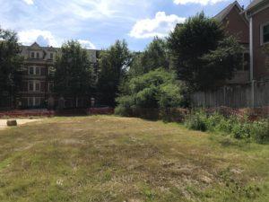 Post-demolition photo