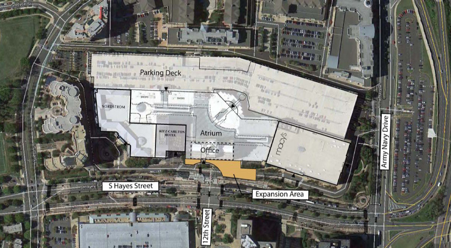 arlington county board approves expansion of fashion centre at pentagon city mall