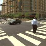 Crosswalks on Clarendon Boulevard