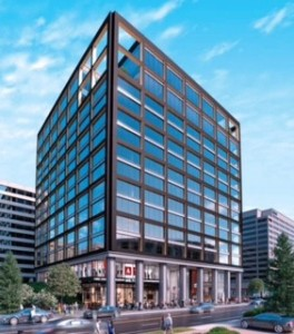 Rendering of Crystal Square 3 project