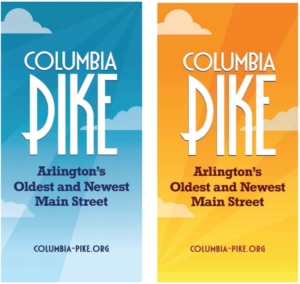 rendering of Columbia Pike banners