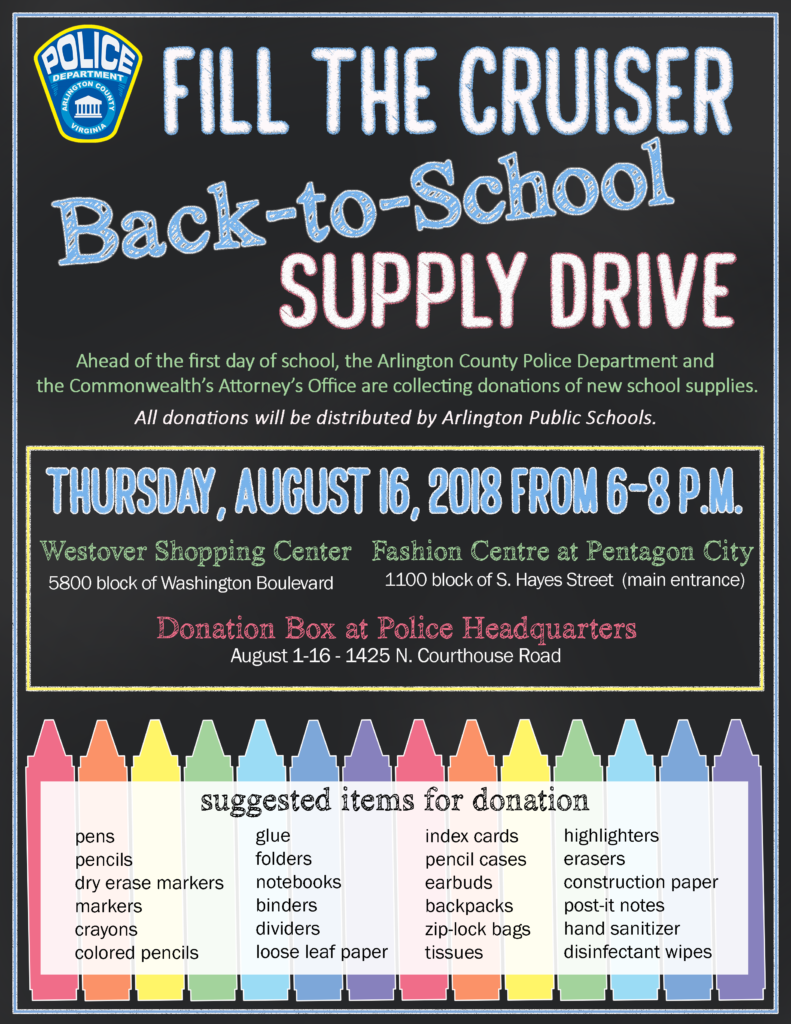 Help Fill The Cruiser With Back To School Supplies Newsroom