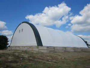 salt storage structure