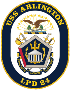USS Arlington Crest