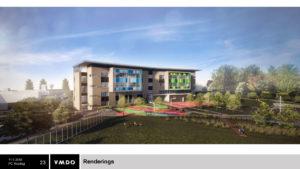 Reed site elementary school rendering