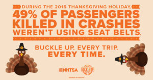 thanksgiving seatbelt reminder graphic