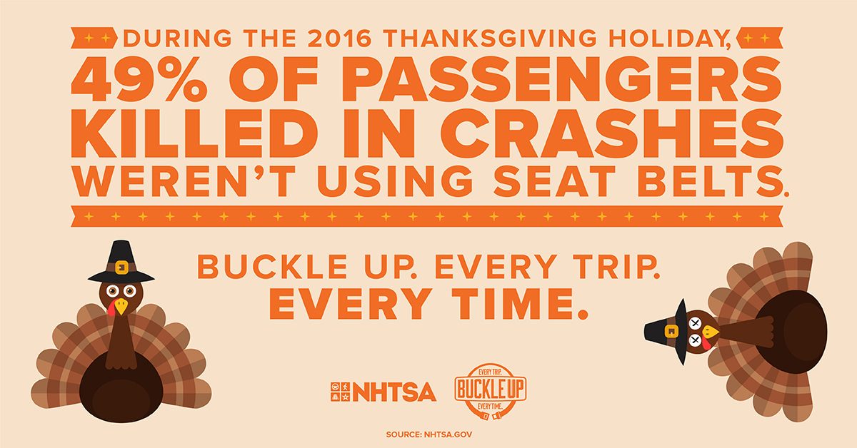 thanksgiving seatbelt reminder graphic