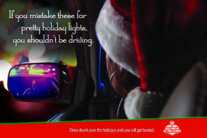 drive sober or get pulled over - holiday