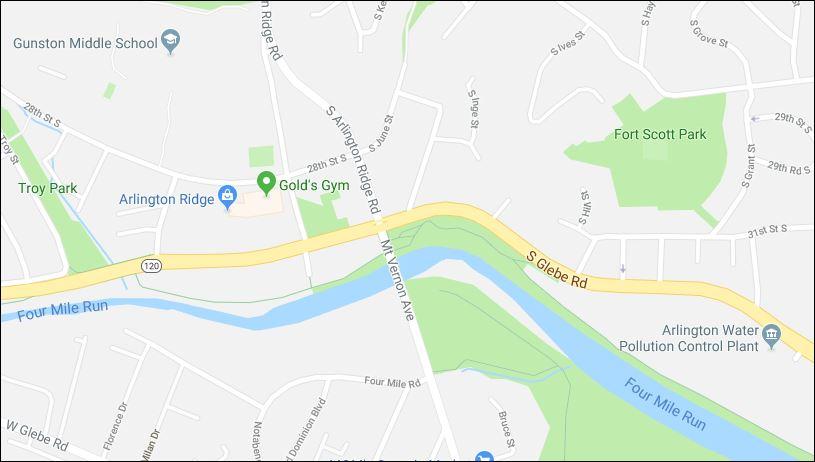 google maps mount vernon bridge