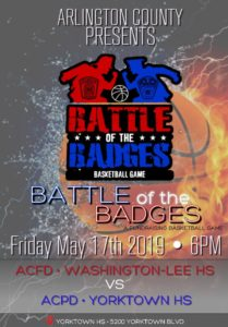 Battle of the Badges Event Flyer