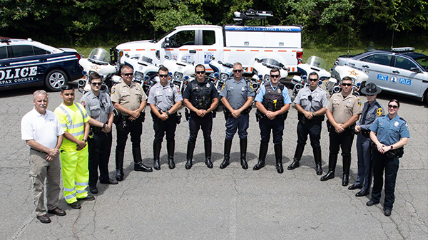 Mover Over Awareness Law Enforcement Group Photo