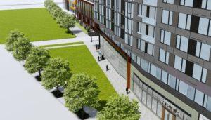 Crystal City redevelopment rendering.