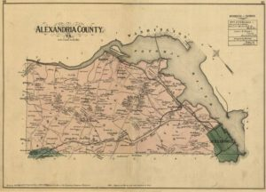 Old Arlington Map