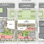 Map of planned Met Park redevelopment
