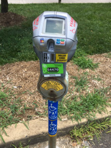 Photo of Meter for Accessible Parking Spot